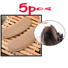 5 Pairs Hot Sticky Fabric Shoe Back Heel Insert Insoles Pads Cushion Liner Grips