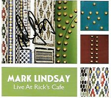 Mark Lindsay Live at Rick's Cafe CD AUTOGRAPHED Formerly Paul Revere & Raiders