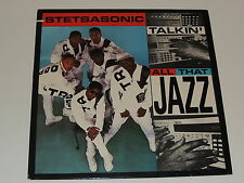 "STETSASONIC talkin all that jazz 12"" RECORD PROMO 1988"