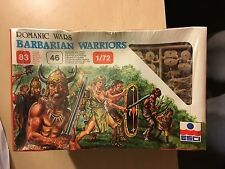 ESCI / ERTL ROMANIC WARS / BARBARIAN WARRIORS / 1/72 SCALE / 46 FIGURES