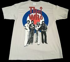 New (L) THE WHO Cream Graphic T-Shirt Legendary Music Rock Cygnus Guitar