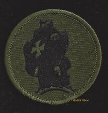 JUNGLE SCHOOL HAT PATCH BADGE PIN UP US ARMY VETERAN QUILT GIFT