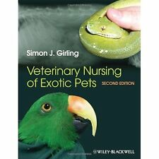 Veterinary Nursing Exotic Pets 2e Girling Wiley-Blackwell (an imp. 9780470659175