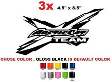 (#535) ARCTIC CAT Logo Snowmobile Team vehicle decal and window sticker graphics
