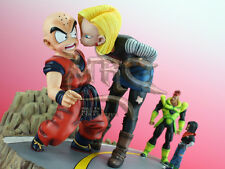 MRC Dragonball Resin Statue Android 18 Kisses Krillin Diorama Figure