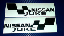 2x NISSAN JUKE FLAG Set Car/Van/Window JDM VW VAG EURO Vinyl Decal Sticker