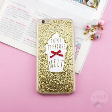Luxury Full Bling Glitter Soft Silicone Phone Cover Case for iPhone 5 6S 7 Plus