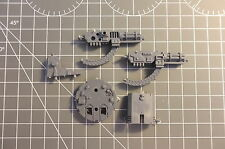 Warhammer 40k - Space Marines - Land Raider / Razorback Assault cannon turrets