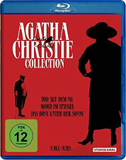 AGATHA CHRISTIE Classics DEATH ON THE NILE Böse under Sun BLU-RAY Box EDITION