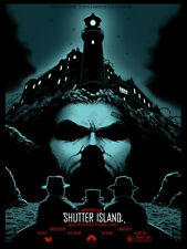 Shutter Island GLOW IN THE DARK ALT MOVIE POSTER Joshua Hardie N./35 NT MONDO