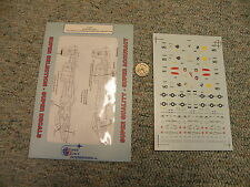 Superscale decals 1/72 72-597 A-10A Warthogs 104TFS 175 TFG Maryland   K144