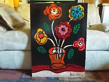 RARE HUGE MUSEUM QUALITY PETER KEIL 1992 ORGINAL OIL PAINTING Very Beautiful