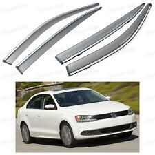 Window Visor Vent Shade Rain/Sun Guard Deflector for VW Jetta 2011-2015 12 13 14