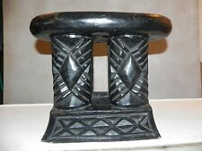 "Arts of Africa - Bamileke Stool - Cameroon 11""Hight X9""Wide X14Long"