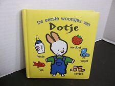 Yves Got De eerste woordjes van Dotje  J. H. Gever  Dutch Language Boardbook