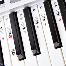 Best Reusable Piano Key and Note Keyboard Stickers for Adults & Children'
