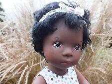 Sylvia Natterer Puppe ☘☘ Baby dunkel ☘☘ Götz 35 cm Sammlerpuppe ☘☘ Gotz Doll