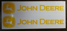 "DECAL SET for Late John Deere Pedal Tractor Wagon, Adhesive Backed, 8""  JP123"