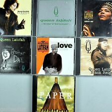 Queen Latifah 7 CD Lot Nature of Sista Love Thee Maxis Promo Hip Hop 1991-2002