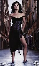 Karen Millen Black Silk Corset Dress UK Size 12