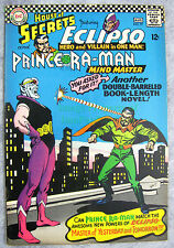 House of Secrets #79 Eclipso vs Prince Ra Man VERY NICE Unrestored BIG PICS!