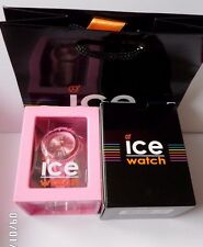 ICE-WATCH WOMEN'S FOREVER PINK SILICONE WATCH WITH WARRANTY CARD SI.PK.U.S.09