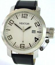 HEKTOR U Made in Germany XL Herrenuhr Datum MIYOTA Werk Ø45mm 10bar