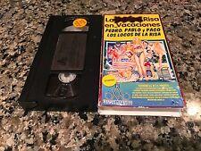La Nueva Risa En Vacaciones Rare VHS! Spanish Mexi Comedy!