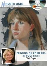 NEW! Painting Oil Portraits in Cool Light with Chris Saper [DVD]