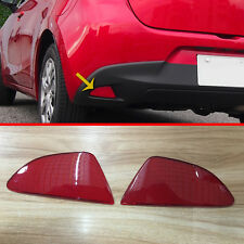 Plastic Rear Fog Light Cover Reflector For Mazda 2 Demio DJ DL 2015 2016 2017