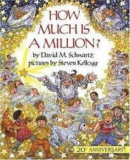 How Much Is a Million? by David M. Schwartz FREE SHIPPING