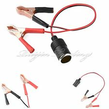12V Auto Car Cigarette Lighter Extension Cable Socket Cord Double Plug Adapter