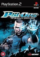 PSI-OPS: THE MINDGATE CONSPIRACY (PS2), buona PlayStation2, PLAYSTATION 2 Video G