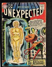 Tales of the Unexpected #66 ~ Amazing Dr. Electro ~ 1961 (3.5) WH