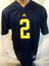 Adidas Authentic NCAA Jersey Michigan Wolverines Charles Woodson Navy sz 46