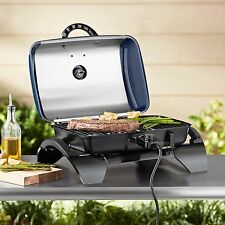 Electric Tabletop Grill Outdoor Indoor Portable Bbq  Home Garden Patio Yard New