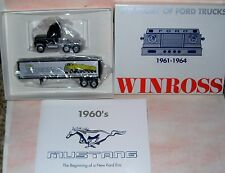 1991 History of Ford Trucks #11 1961 Winross Diecast Delivery Trailer Truck