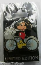 Disney DEC Studio Dept Bicycle Mickey Mouse Post Office LE 200 Pin