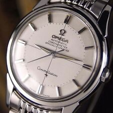 Authentic Omega Constellation Pie Pan Chronometer Certified Automatic Mens Watch
