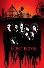 "012 The Lost Boys - 1987 American Horror Film Movie 14""x22"" Poster"