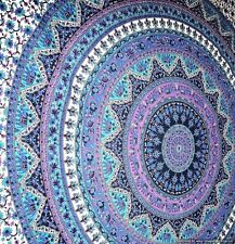 Large Indian Mandala Tapestry Hippie Hippy Wall Hanging Throw Bedspread Dorm ...