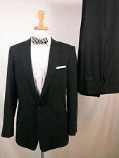 Armani Collezioni suit, black, 40R, made in Italy, slim