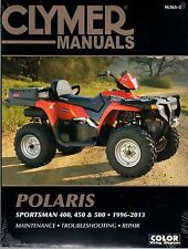 CLYMER SERVICE MANUAL M365-5 POLARIS SPORTSMAN 500 HO 2008 09 2010 11 2012 2013