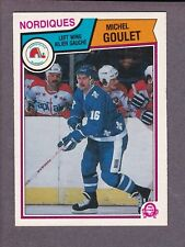 1983-84 O-Pee-Chee OPC Hockey Michel Goulet #292 Quebec Nordiques NM/MT