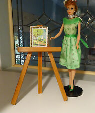 Vintage Barbie #1625 Easel for Modern Art Mint