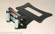Quad ATV / Triton Outback 400 / Seilwinde Montageplatte mit Rollenseilfenster