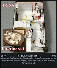 CMK 1/35 T-55A Interior Detail Set (for Tamiya kit) 3047