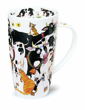 Gorgeous 'Hoofers' Cows By Dunoon Fine Bone China Large Mug Henley Style
