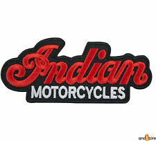 PATCH TOPPA INDIAN MOTORCYCLES RICAMATA TERMOADESIVA 12 x 5 cm