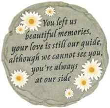 Beautiful Memories Memorial Stepping Stone Lawn Garden Yard Home Decoration